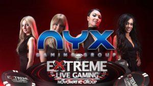 NYX Gaming oyun sağlayıcısı